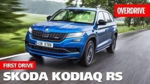2019 Skoda Kodiaq RS | First Drive Video Review