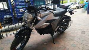 2019 Suzuki Gixxer spotted once again in India