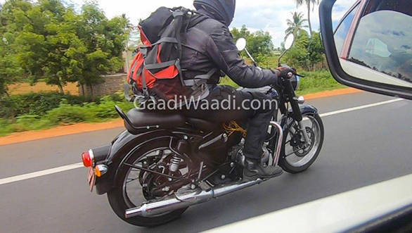 2020 BSVI Royal Enfield Classic spotted once again - launch expected early next year