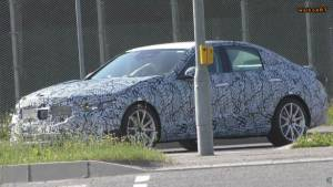 New-generation Mercedes-Benz C-Class spied testing