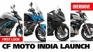 CFMoto 300NK, 650NK, 650MT and 650GT launched in India