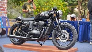 17th International Jawa Day concluded in Bengaluru - Yezdi Road King re-assembled in 4 hours and 3 custom-made Jawas showcased