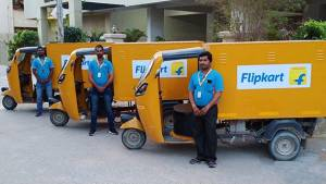 Flipkart plans to replace 40 per cent of its delivery vehicles with EVs