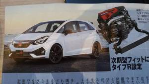 Next-gen Honda Jazz hatchback images leaked ahead of its international unveil