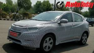 Honda HR-V spotted on test in Noida - could be launched in India soon