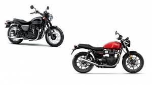 Spec Comparo: Kawasaki W800 Street vs Triumph Street Twin