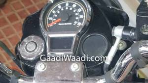 BSVI Royal Enfield spotted in India - reveals instrument cluster and other details