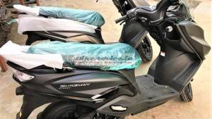 Suzuki Burgman Street scooter spotted in matte black colour - launch expected soon