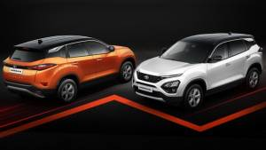 10,000 units of Tata Harrier SUV sold in India - Dual tone colour scheme launched in celebration