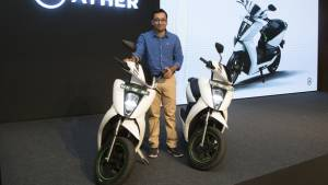 Ather Energy launched in Chennai - Ather 450 all-electric scooter priced at Rs 1.31 lakh