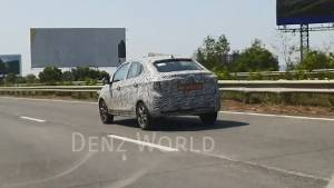 BSVI Tata Tigor compact sedan spotted on test - launch expected soon