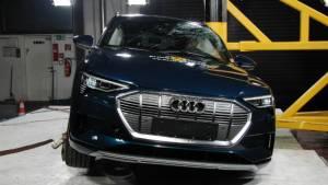 2019 Audi e-tron EV SUV scores 5-star Euro NCAP safety rating