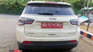 Jeep Compass Limited BSVI diesel automatic spotted testing