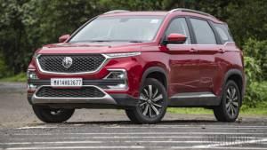 MG Hector SUV crosses 5,000 unit production milestone