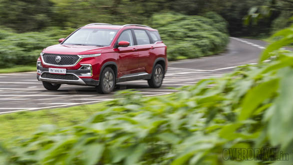 2019 MG Hector petrol automatic road test review