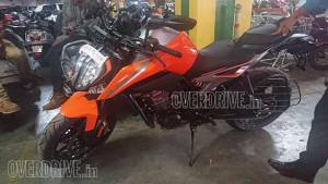 KTM 790 Duke spotted in India - official bookings likely to open on September 5