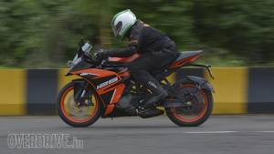 KTM RC125 road test review