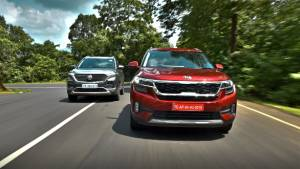 Comparison test: Kia Seltos vs MG Hector