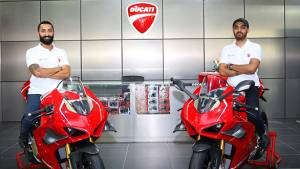Two Ducati Panigale V4 R delivered in Delhi, India