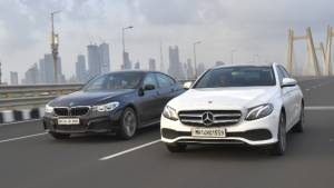 Comparison test: Mercedes-Benz E-Class vs BMW 6 Series GT