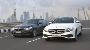 Comparison test: Mercedes-Benz E-Class vs BMW 6 Series GT