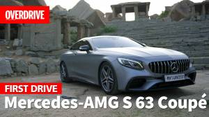 Mercedes-AMG S 63 coupe - Review