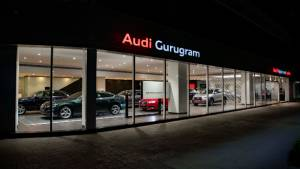 myAudi connected application along with AR and VR elements at showrooms launched in India