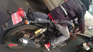 BSVI Royal Enfield Continental GT 650 spotted on test in India