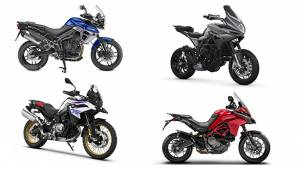 Spec Comparo: MV Agusta Turismo Veloce 800 vs Triumph Tiger 800 XRX vs BMW F850 GS vs Ducati Multistrada 950