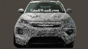 Tata Nexon Sub-4m SUV facelift spotted on test - India launch expected soon