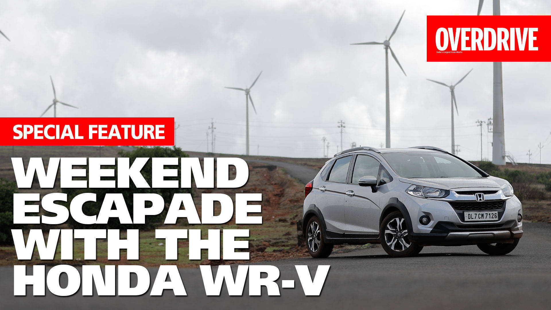 Weekend escapade with the Honda WR-V