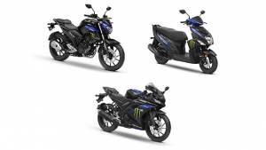 Monster Energy Moto GP livery for Yamaha YZF R15 V3, FZ-25 and Cygnus Ray ZR