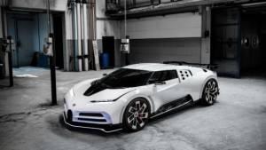 Cristiano Ronaldo gifts himself a Bugatti Centodieci, the world's most expensive car