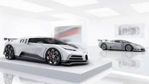 The Bugatti Centodieci brings back the wedge