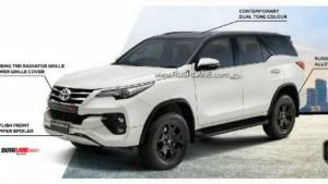 2019 Toyota Fortuner TRD Celebratory Edition launched in India at Rs 33.85 lakh