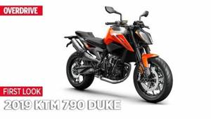 2019 KTM 790 Duke - First Look