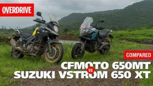 CFMoto 650MT vs Suzuki VStrom 650 XT - Comparison Test