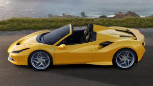 Ferrari's answer to the McLaren 720S Spider is the F8 Spider