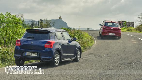 swift vs Hyundai  i10nios