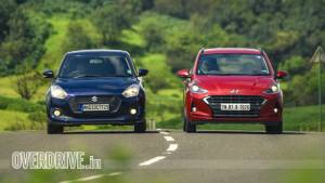 Comparison test: Hyundai Grand i10 Nios vs Maruti Suzuki Swift AMT