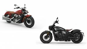 Indian Scout Bobber Twenty and Limited Edition Scout 100th Anniversary unveiled internationally
