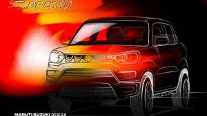 Maruti Suzuki S-Presso Micro SUV teased ahead of its India launch on September 30