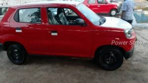 Maruti Suzuki S-Presso spotted undisguised ahead of India launch on September 30
