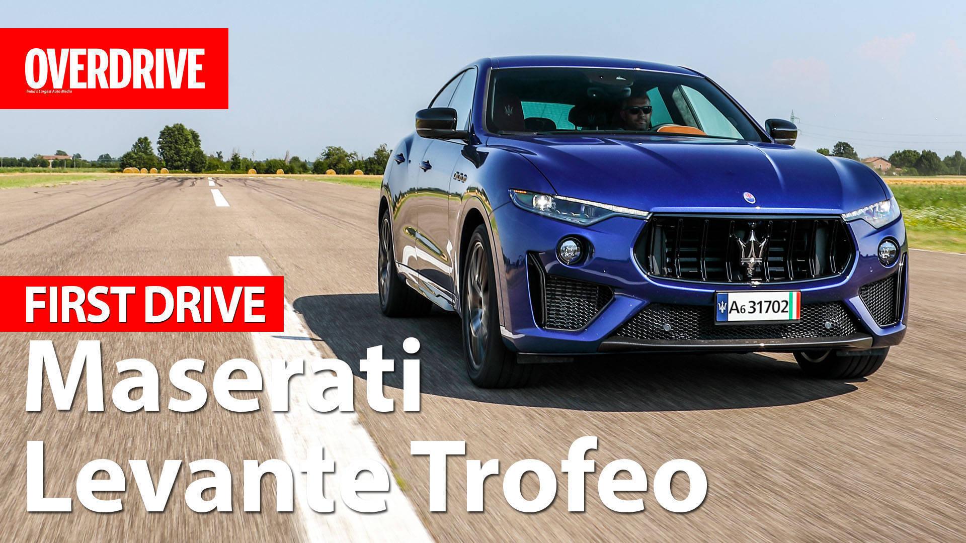 Maserati Levante Trofeo - First Drive
