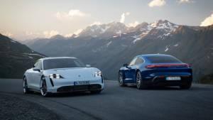 Image gallery: 2019 Porsche Taycan EV