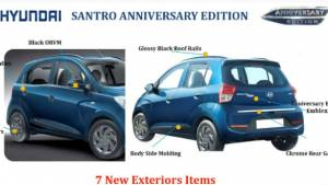 2019 Hyundai Santro Anniversary Edition to be launched at Rs 5.17 lakh