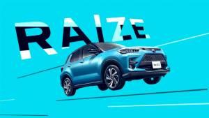 2020 Toyota Raize sub-four-metre SUV leaked ahead of international debut