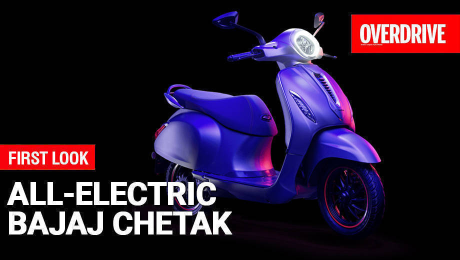 All-Electric Bajaj Chetak - First Look