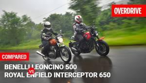 Benelli Leoncino 500 vs Royal Enfield Interceptor 650 - Comparison Test