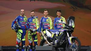 Indian rider Harith Noah part of Sherco TVS's Dakar 2020 ride lineup
